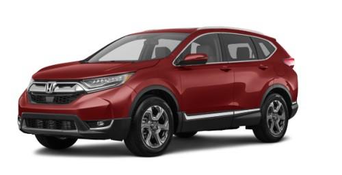 Тёмно-красный (перламутр) Honda Новый CR-V Executive, год, VIN 10116 – цена, описание и характеристики — фото № 2