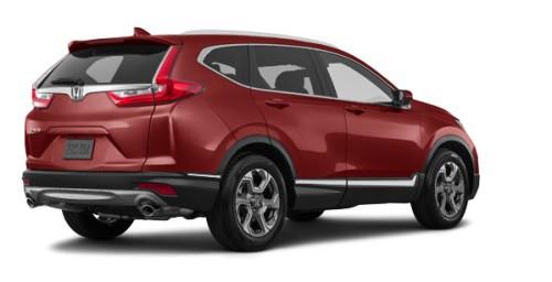 Тёмно-красный (перламутр) Honda Новый CR-V Executive, год, VIN 10116 – цена, описание и характеристики — фото № 4