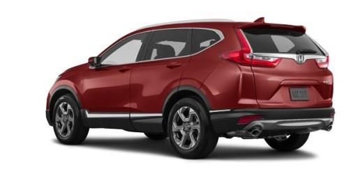 Тёмно-красный (перламутр) Honda Новый CR-V Executive, год, VIN 10116 – цена, описание и характеристики — фото № 5
