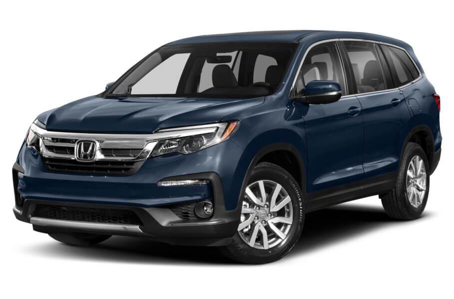 Синий Honda Pilot Executive, год, VIN 00093 – цена, описание и характеристики — фото № 2
