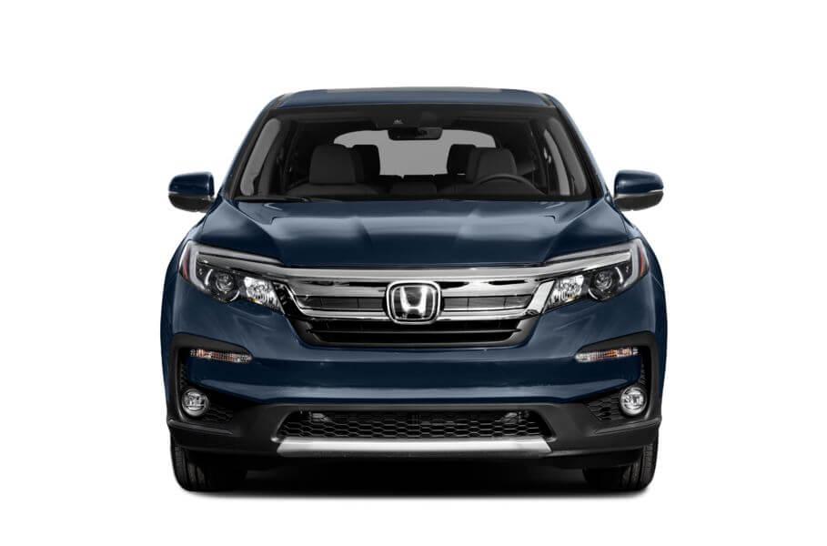 Синий Honda Pilot Executive, год, VIN 00093 – цена, описание и характеристики — фото № 3