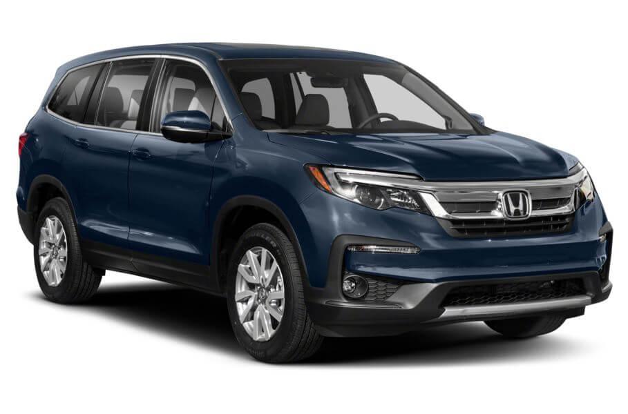 Синий Honda Pilot Executive, год, VIN 00093 – цена, описание и характеристики — фото № 4