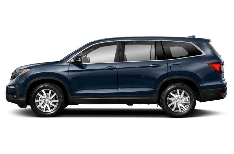 Синий Honda Pilot Executive, год, VIN 00093 – цена, описание и характеристики — фото № 8