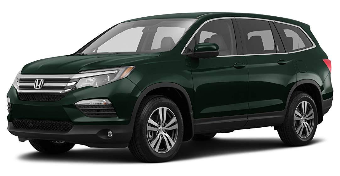 Тёмно-зелёный Honda Pilot Executive, год, VIN 00045 – цена, описание и характеристики — фото № 2