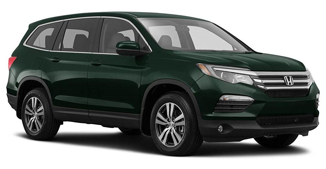 Тёмно-зелёный Honda Pilot Executive, год, VIN 00045 – цена, описание и характеристики — фото № 3