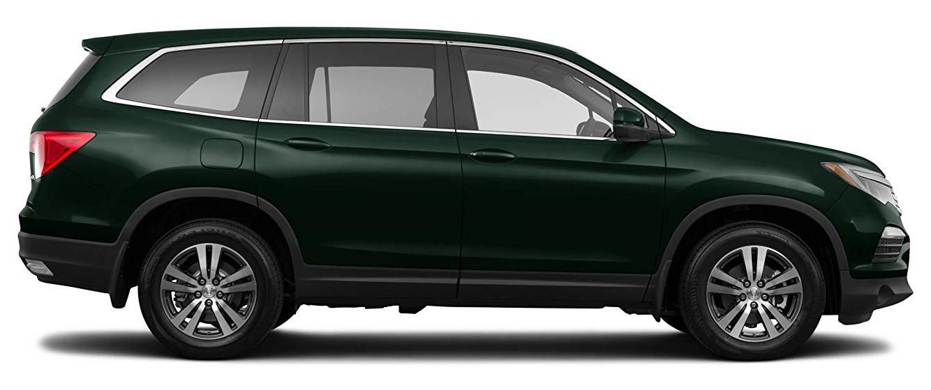 Тёмно-зелёный Honda Pilot Executive, год, VIN 00045 – цена, описание и характеристики — фото № 1