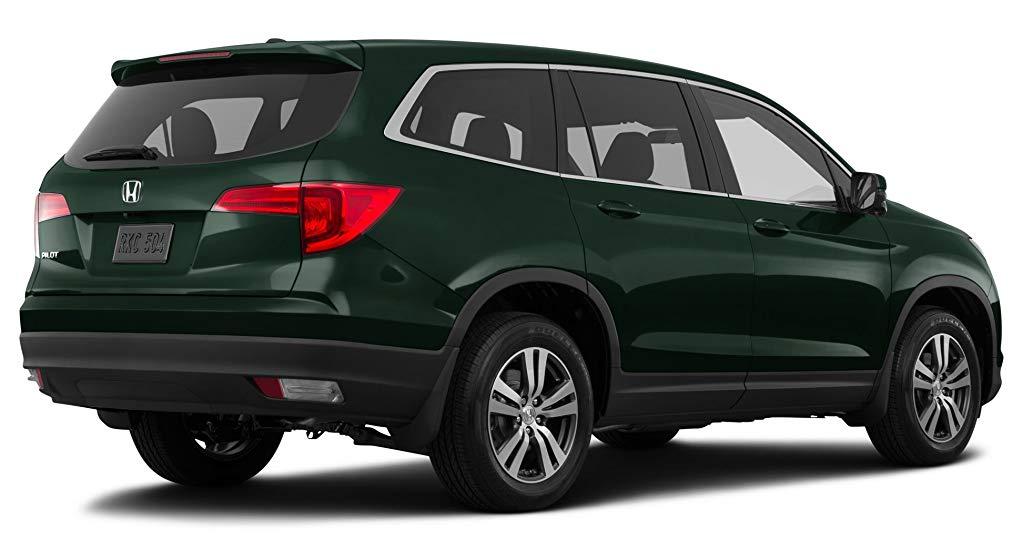 Тёмно-зелёный Honda Pilot Executive, год, VIN 00045 – цена, описание и характеристики — фото № 4