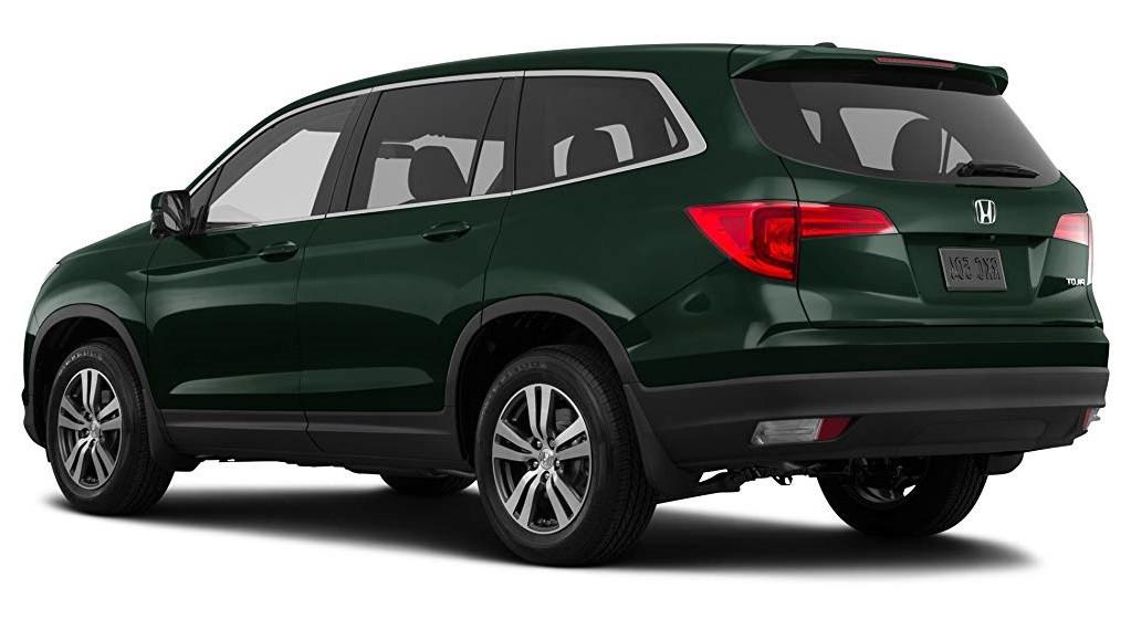 Тёмно-зелёный Honda Pilot Executive, год, VIN 00045 – цена, описание и характеристики — фото № 5