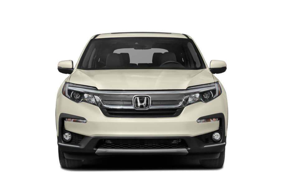 Белый Honda Pilot Executive, год, VIN 00157 – цена, описание и характеристики — фото № 3