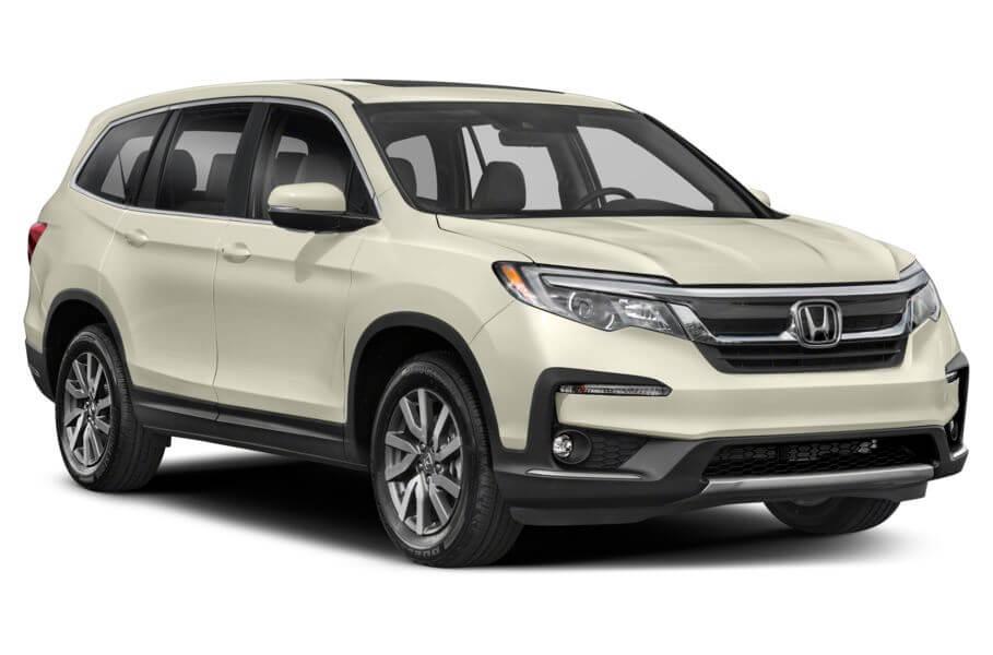 Белый Honda Pilot Executive, год, VIN 00092 – цена, описание и характеристики — фото № 4