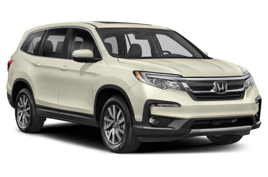 Белый Honda Pilot Executive, год, VIN 00157 – цена, описание и характеристики — фото № 4