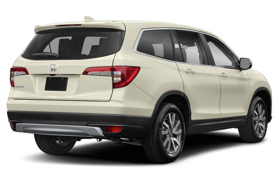 Белый Honda Pilot Executive, год, VIN 00157 – цена, описание и характеристики — фото № 5
