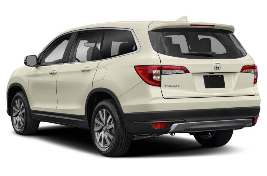 Белый Honda Pilot Executive, год, VIN 00092 – цена, описание и характеристики — фото № 7