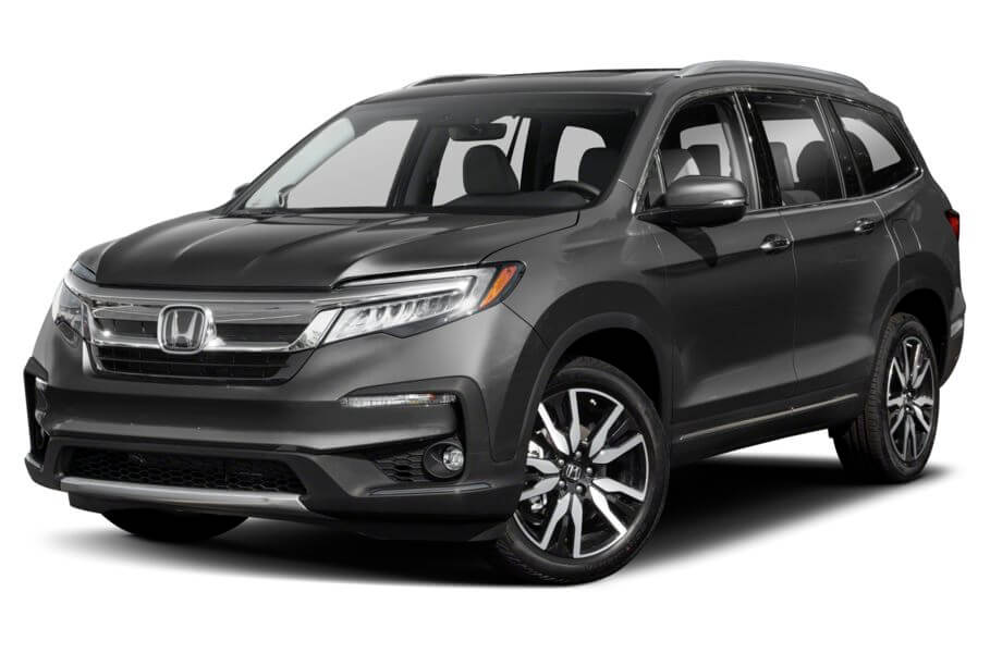 Черный Honda Pilot Executive, год, VIN 00119 – цена, описание и характеристики — фото № 2