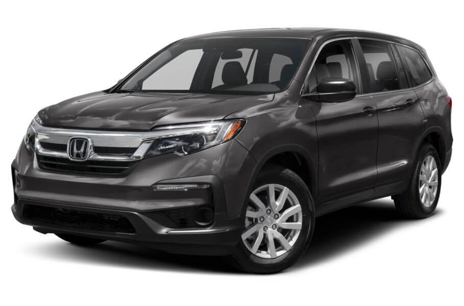 Тёмно-серый Honda Pilot Premium, год, VIN 00185 – цена, описание и характеристики — фото № 2