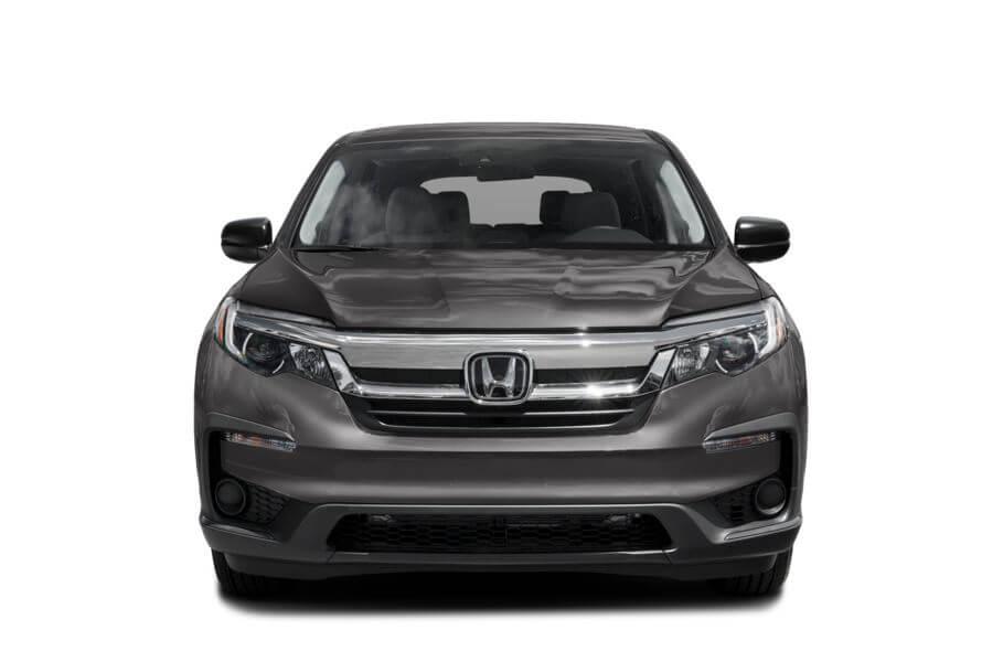 Тёмно-серый Honda Pilot Premium, год, VIN 00185 – цена, описание и характеристики — фото № 3