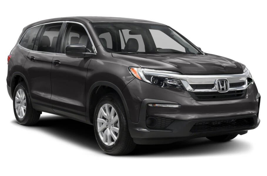 Тёмно-серый Honda Pilot Premium, год, VIN 00185 – цена, описание и характеристики — фото № 4