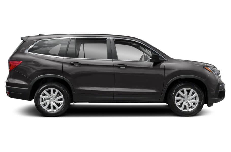 Тёмно-серый Honda Pilot Premium, год, VIN 00185 – цена, описание и характеристики — фото № 1