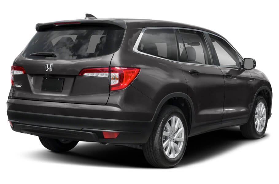 Тёмно-серый Honda Pilot Premium, год, VIN 00185 – цена, описание и характеристики — фото № 5