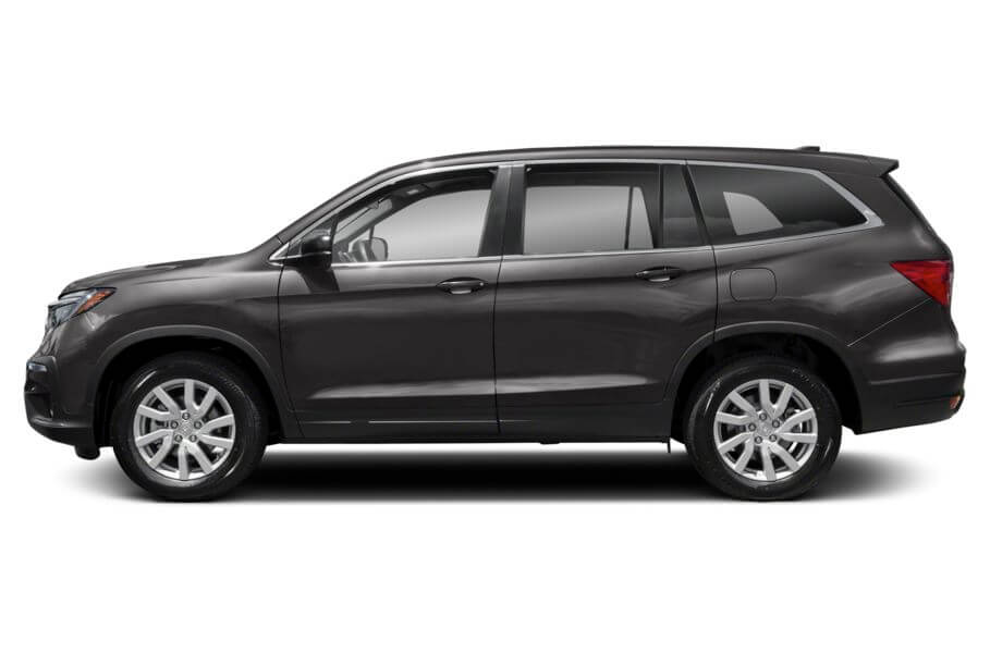 Тёмно-серый Honda Pilot Premium, год, VIN 00185 – цена, описание и характеристики — фото № 8