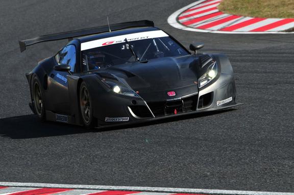 Honda HSV-010 GT для чемпионата Super GT