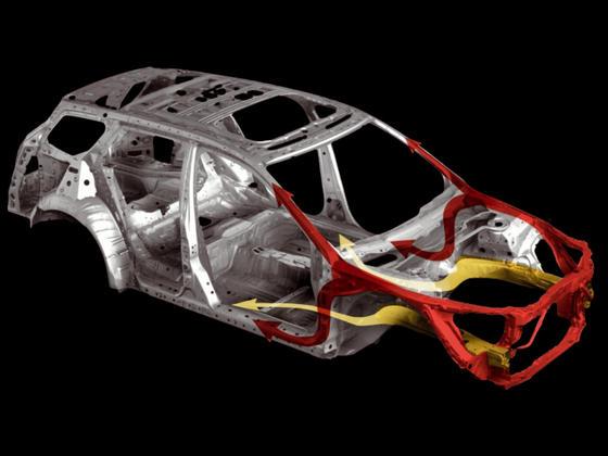 Технология ACE и безопасность нового Honda Accord