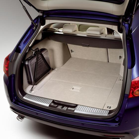 Багажное отделение нового Honda Accord, универсал