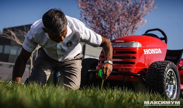 Honda 1000 cc 109 HP Mean Mower — самая быстрая газонокосилка в мире