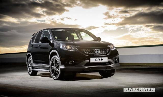 Honda сделала ставку на оригинальность, выпустив особую серию CR-V
