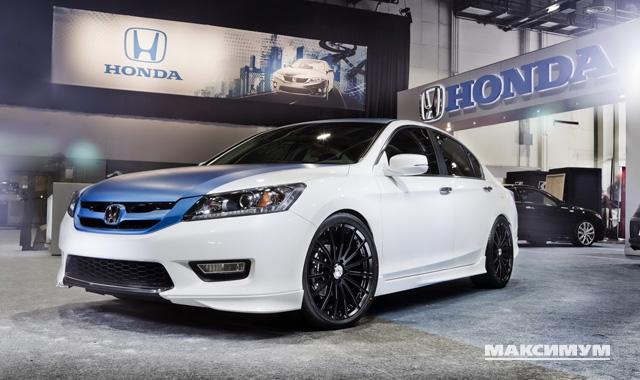 Honda Accord бьет рекорды по популярности в Америке