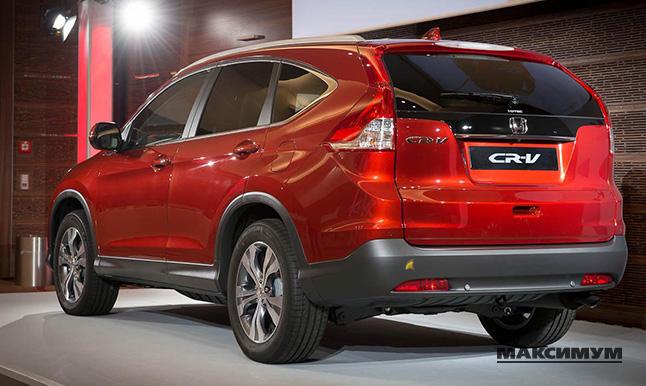 Honda CR-V – серьезный автомобиль для состоятельного горожанина