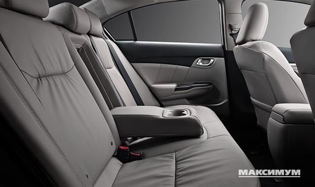 Салон Honda Civic признан самым безопасным для пассажиров