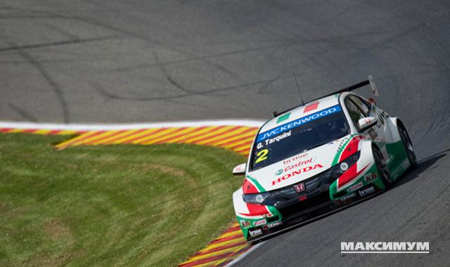 Honda достались высокие позиции на бельгийских FIA WTCC