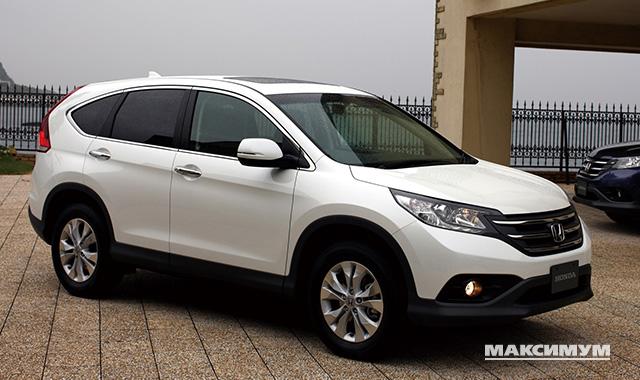 Обзор и технические характеристики Honda CR-V